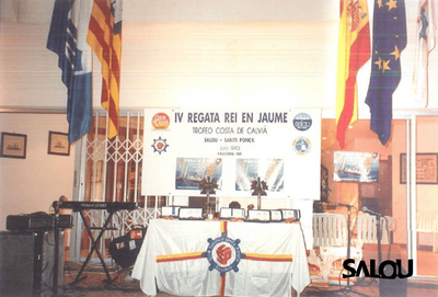 Regata Rei Jaume I. Any 1990