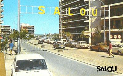 Salou. A prop de Plaça Venus Anys 70