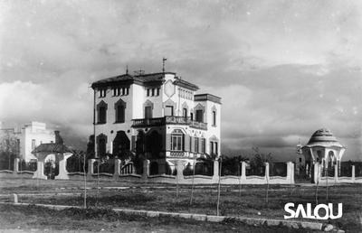 Chalet Bonet villa. 1920