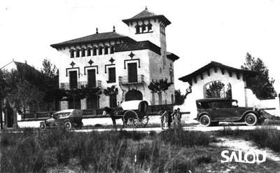 Chalet Loperena villa. 1920
