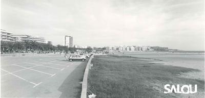 Llevant beach. 1990