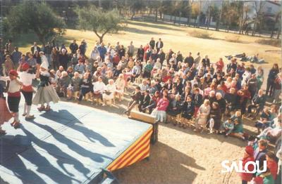 Old people's festivity in Torre Vella. 1988