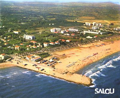 Salou Harbour Area. 1960