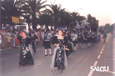 Salou's Local Festivity. 1990