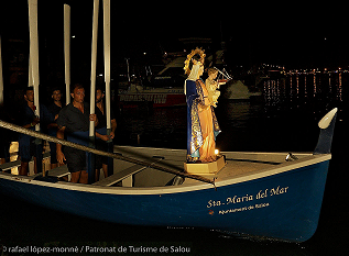 Procession of the Virgin on 15 August