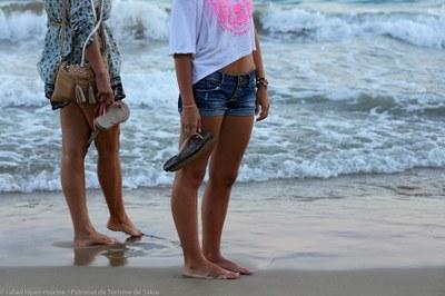 Walk by the seaside!
