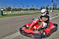 We spend a great time at Karting Salou