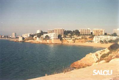 Playa de Capellans. Años 80