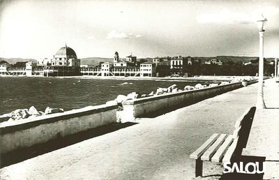 Puerto de Salou. Años 60