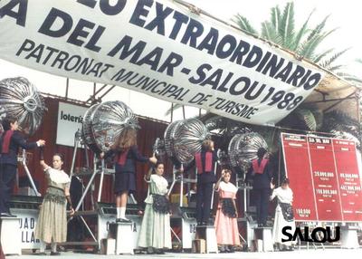 Sorteo de lotería. Día del mar 1988 II