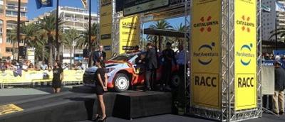 """Die Hauptstadt der Costa Dorada wird mit dem """"Podium"""" für die Preisverleihung der RallyRACC Cataluña-Costa Dorada weiterhin im Mittelpunkt stehen"""