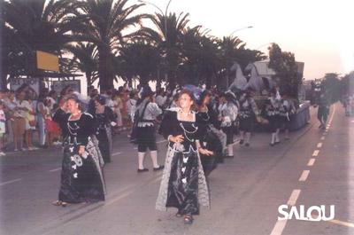 Fête de la Ville de Salou Année 1990 I