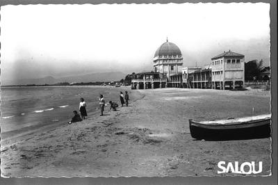 Plage Ponent. 1950