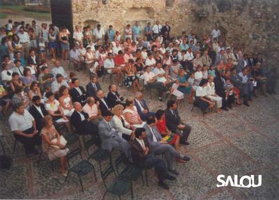 Proclamation des Nuits d'or Torre Vella   11 août 1988