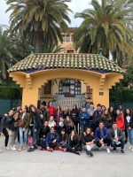 Alumnos de la escuela Clémence Isaure de Toulouse visitan Salou