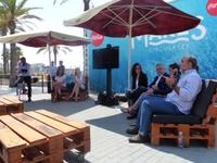 Coca-cola ha presentado hoy en Salou, Mare Circulares, su proyecto de limpieza de costas y fondos marinos más ambicioso hasta hoy día