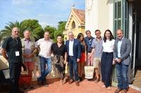 El alcalde de Salou expone a periodistas franceses el trabajo del municipio para convertirse en Destino Turístico Inteligente