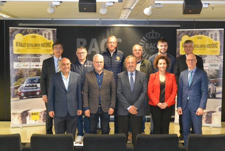 El RACC presenta el 4t Rally Catalunya Històric - Rally de les Caves