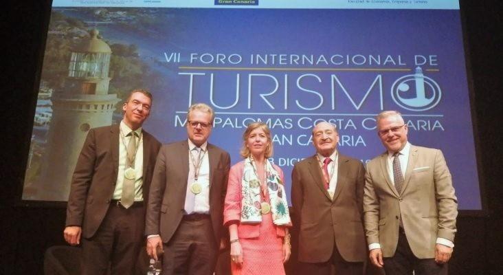 Éxito en la participación del alcalde de Salou y presidente del Patronato Municipal de Turismo, Pere Granados, en la séptima edición del Fórum Internacional de Turismo de Maspalomas Costa Canaria