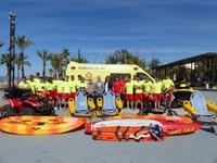 La capital de la Costa Dorada despliega el servicio de salvamento y socorrismo en las playas del municipio