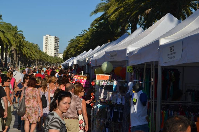 La feria Fora Stocks llega este fin de semana al paseo Jaume I