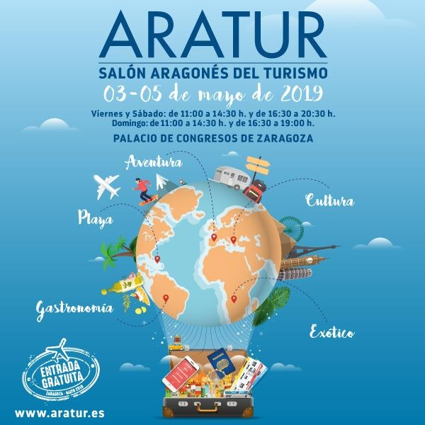 Salou, Cambrils, Reus y PortAventura World dan a conocer su oferta en Aratur, el Salón aragonés del Turismo