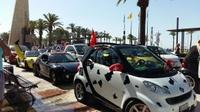 Salou llena de 'smart lovers' y 1.200 coches 'smart' el Passeig Jaume I