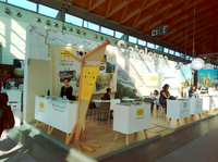 Salou y PortAventura World se promocionan conjuntamente en la feria TTG Travel Experiences