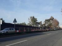 Se inician las obras de mejora de la acera de la autovía Reus - Salou a la altura del Camping La Siesta