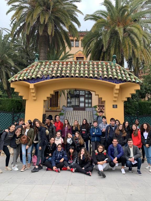 Alumnes de l'escola Clémence Isaure de Toulouse visiten Salou