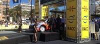 Cerimònia oficial de sortida del RallyRACC 2014 al passeig de Jaume I de Salou