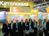 El Patronat de Turisme de Salou viatja a la Fira MITT de Moscou per captar nous visitants
