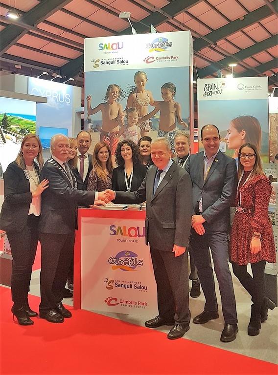 Els Patronats de Turisme de Salou i Cambrils, junts a la fira Holiday World Show de Dublín