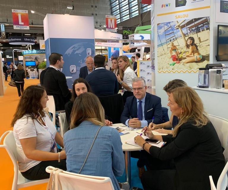 L'alcalde de Salou, Pere Granados, assisteix a la International French Travel Market (IFTM) Top – Resa a París