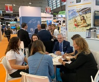 L'alcalde de Salou, Pere Granados, assisteix a la International French Travel Market (IFTM) Top – Resa a París