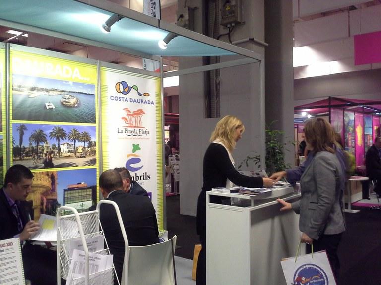 L'Aliança turística de la Costa Daurada es promociona a la fira Mappro de París per incrementar i fidelitzar l'arribada del turista francès