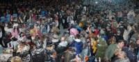 La gran festa que acull Salou del Cos Blanc supera totes les expectatives