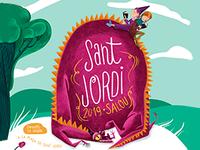 Salou manté la tradició del mercat de Sant Jordi i organitza activitats culturals al voltant de la figura del llibre i la rosa