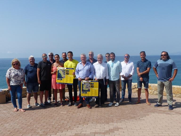 Salou presenta un nou producte turístic per a potenciar la relació amb el mar a través d'itineraris marins senyalitzats