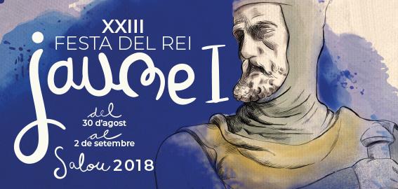 SALOU TORNARÀ A L'EDAT MEDIEVAL EN LA XXIII EDICIÓ DE LA FESTA DEL REI JAUME I