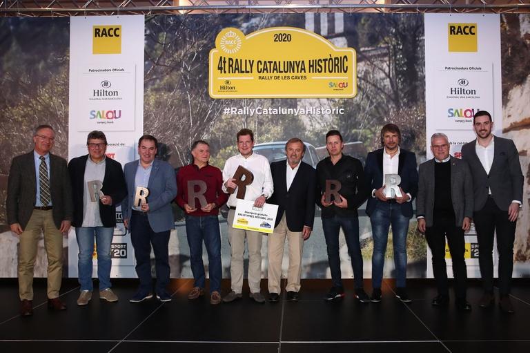 Victòria per a Ruben Maes-Michel Périn (Porsche) en el 4t Rally Catalunya Històric-Rally de les Caves