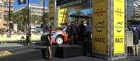 Cérémonie officielle de sortie du RallyRaCC 2014 à la promenade Passeig Jaume I de Salou