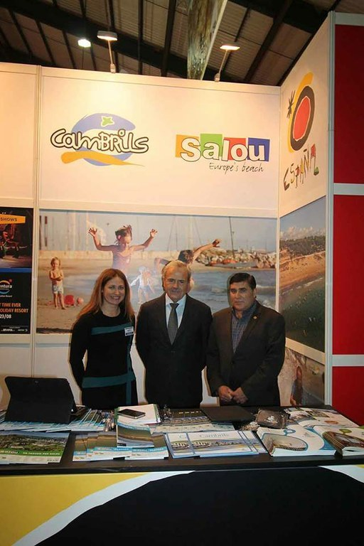 Salou au salon Holiday World Show de Dublin, le plus grand salon du tourisme sur le marché irlandais