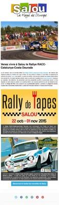Venez vivre à Salou le RallyeRACC Catalunya-CostaDaurada