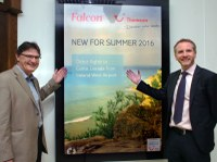 FALCON AND THOMSON ANNOUNCE NEW SUMMER PROGRAMME  FROM IRELAND WEST AIRPORT KNOCK