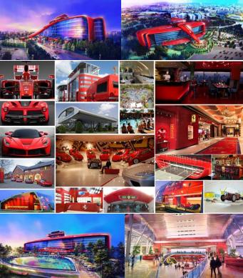 Ferrari to invest €100 million in the Ferrari Land theme park at Port Aventura