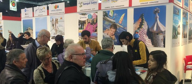 Salou and Cambrils are being promoted together with PortAventura at the most important tourism fair in Brussels