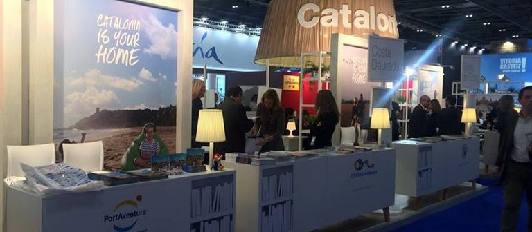 Salou attends World Travel Market