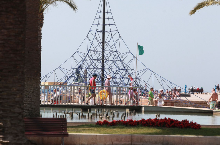 THE SALOU MUNICIPAL TOURIST BOARD IS BEING PROMOTED FOR THE NEXT SUMMER SEASON