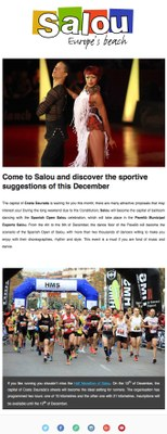 Come to Salou and discover the sportive suggestions of this December